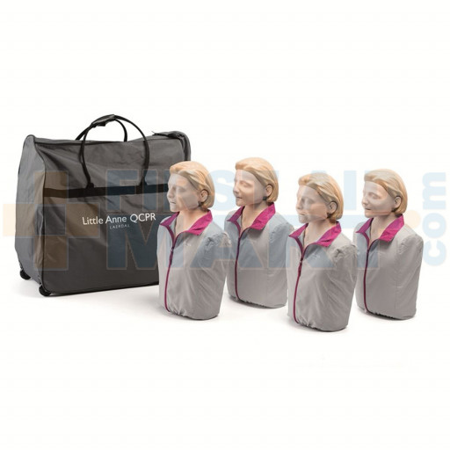 Little Anne QCPR - Adult CPR Manikin - 4 Pack - LG01020U