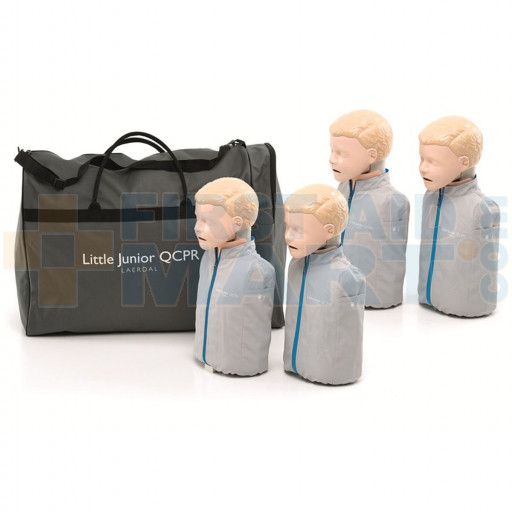Little Junior QCPR - Child / Pediatric CPR Manikin - 4 Pack - LG01022U