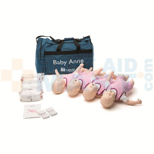 Baby Anne - Infant / Baby CPR Manikin - 4 Pack - LG01024U