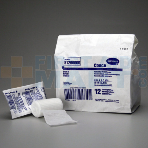 Conforming Gauze Roll Bandage, Sterile 2 inch - 12 Per Bag - M218-12