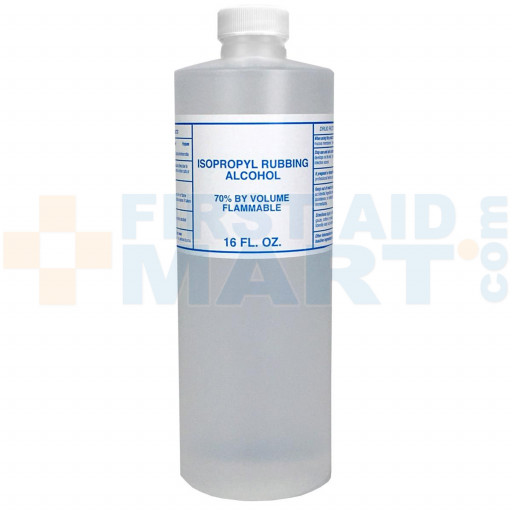 Isopropyl Alcohol, 70%, 16 ounce - 1 Each - M313