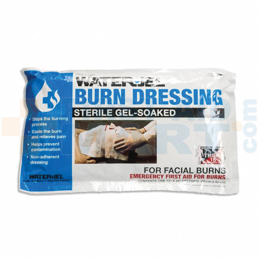 Water Jel  Facial Burn Dressing, 12 inch x 16 inch - M492