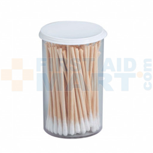 Cotton Tipped Applicator - Non-Sterile - 3 inch - 100 Per Vial - M5064