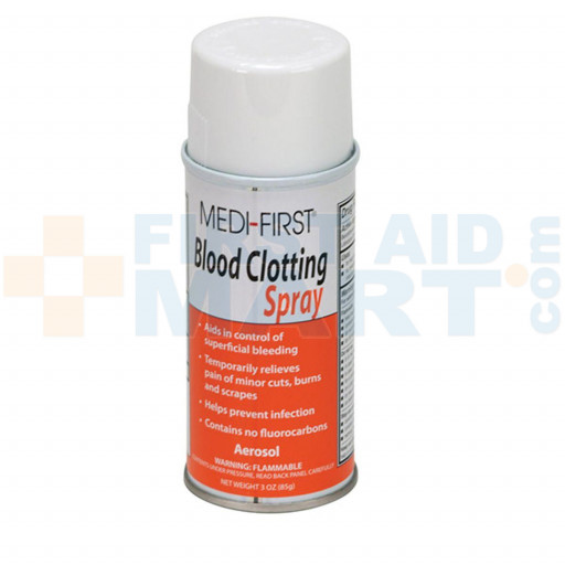 Blood Clotting Spray, 3 ounce Aerosol - 1 Each - M529