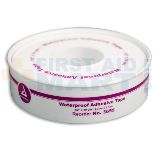 1/2 inch x 10 yard Waterproof Tape - Plastic Spool - 1 Each - M686-P