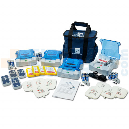 Prestan Professional AED Trainer Kit, 4 Pack, PP-AEDT-KIT-401