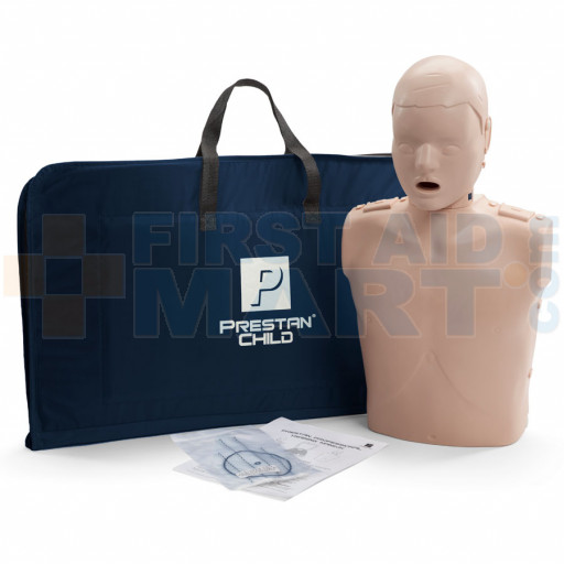 Prestan Child / Pediatric CPR Manikin w/o Monitor - Medium Skin - PP-CM-100-MS