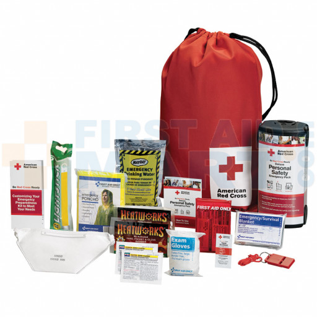 American Red Cross Personal Emergency Preparedness Kit w/ Backpack - RC-622