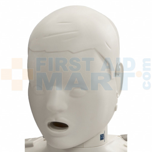 Prestan Child / Pediatric Manikin Head Assembly - Light Skin - RPP-CHEAD-1