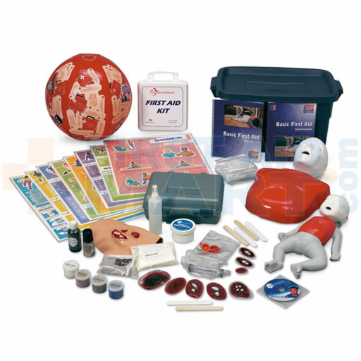 CPR and First Aid Hands-On Education Kit - SB40185U