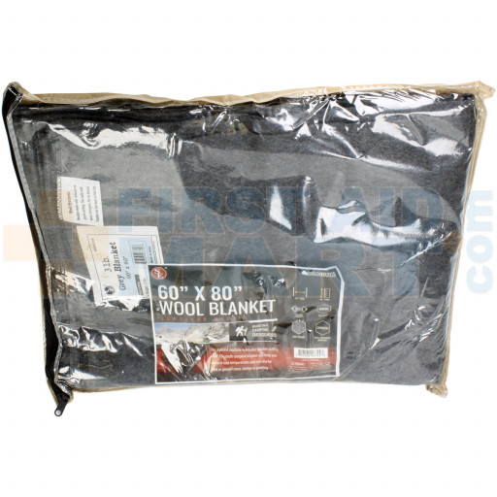 60-70% Wool Blanket 60 inch x 80 inch - SH77WL