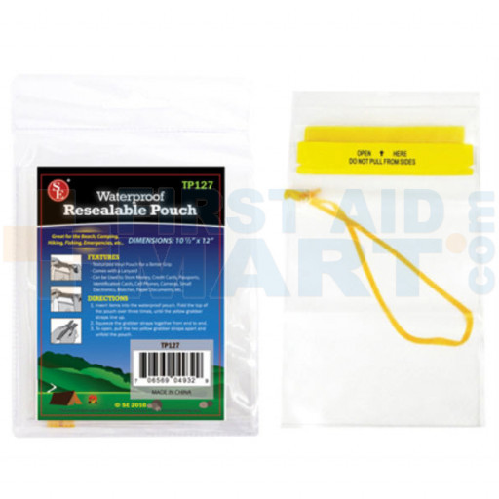 Waterproof Utility Pouch - 10.5 inch x 12 inch - ST66