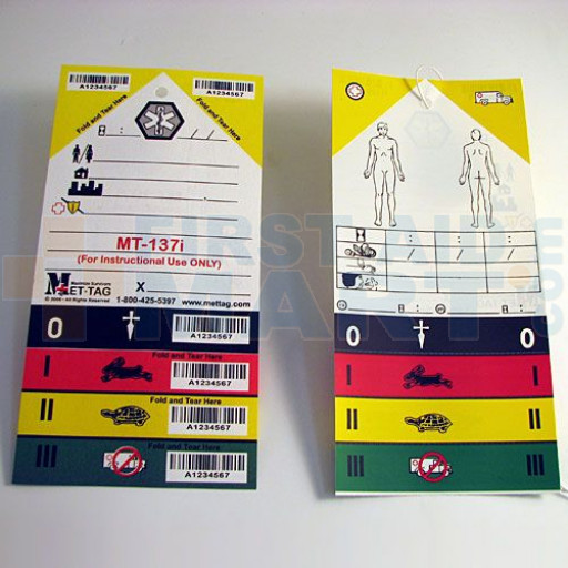 Triage Tag Pack of 50 - TR02-50