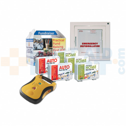 Plan D2: Mixed Fundraiser Kit Pack with Automated External Defibrillator - URG-3000-D2