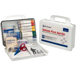Vehicle First Aid Kit - 94 Pieces - Plastic Case w/ Gasket - 220-O
