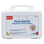 25 Person Bulk First Aid Kit w/ Gasket - Plastic Case - 223-G