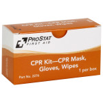 CPR KIT – CPR Mask, Gloves, Wipes, 1 Per Box, 2276