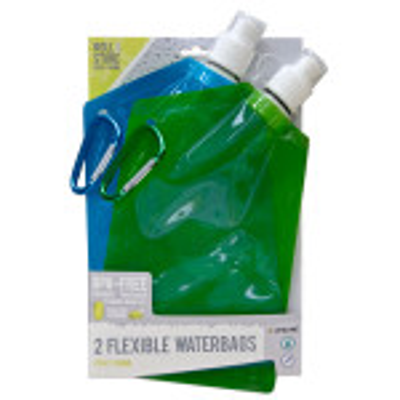 2-Pack Flexible Waterbags - 4258