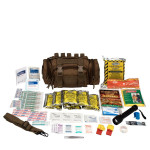 Emergency Preparedness, 1 Person, Tan Fabric Bag, 90454