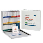 54 Unit First Aid Kit, ANSI B,  Metal Case - 90570