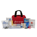 25 Person First Aid Kit, ANSI A, Fabric Case - 90594