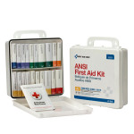 24 Unit First Aid Kit, ANSI A+,  Plastic Case - 90601