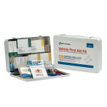 50 Person Vehicle ANSI A+ First Aid Kit, Metal Case - 90673