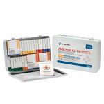 36 Unit First Aid Kit, ANSI A+ with BBP,  Metal Case - 90700