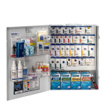 XL Metal Smart Compliance General Business First Aid Cabinet with Meds, 90732