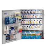XL Metal Smart Compliance Food Service First Aid Cabinet with Meds, 90830