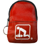 CPR Red BeltLoop/KeyChain BackPack - 911CPR-HRK