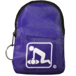 CPR Purple Belt/KeyChain BackPack: Shield-Gloves- - 911CPR-PPK
