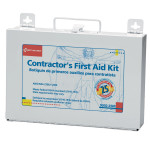 Bilingual Contractor's First Aid Kit, 25 Person - 9302-25M