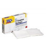 Compress Bandage, Off Center, 2 inch - 4 Per Box - AN276