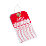 Automated External Defibrillator Inspection Tag - DAC-801