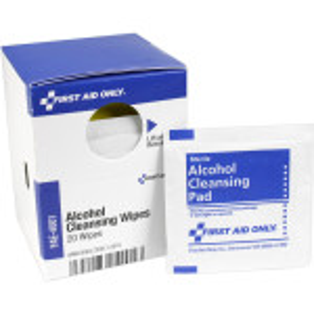 Alcohol Cleansing Wipes, 20 Each - SmartTab EzRefill - FAE-4001