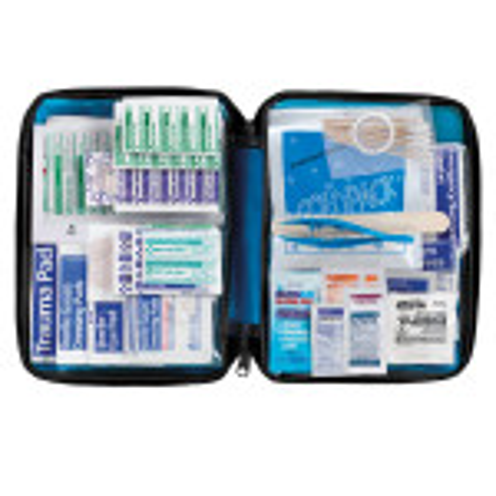 All Purpose First Aid Kit, soft bag, 200 Pieces - Medium - FAO-432
