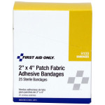 "2""x4"" Patch Fabric Adhesive Bandage, 25 Per Box - H109"