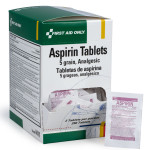 Aspirin Tablets - 5 Grain - 250 Per Box - I411