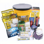 4 Person Deluxe Emergency Honey Bucket Kit - KEX4P