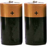 D Size Batteries 1 Pair - L35