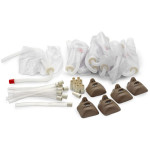 Starter Kit for Sanitary CPARLENE Basic - Black - LF03822U