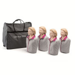 Little Anne QCPR - Adult CPR Manikin - 4 Pack - LG01020U