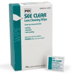 See Clear Eyeglass Cleaning Wipe - 120 Per Box - M713