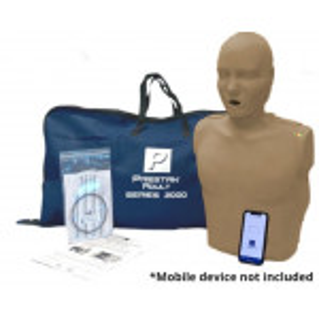 PRESTAN Professional Adult Series 2000 CPR Training Manikins, Dark Skin, PP-AM-2000-1-DS