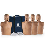 Prestan Adult CPR Manikin w/o Monitor - 4 Pack - Dark Skin - PP-AM-400-DS