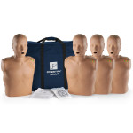 Prestan Adult CPR Manikin w/ Monitor - 4 Pack - Dark Skin - PP-AM-400M-DS
