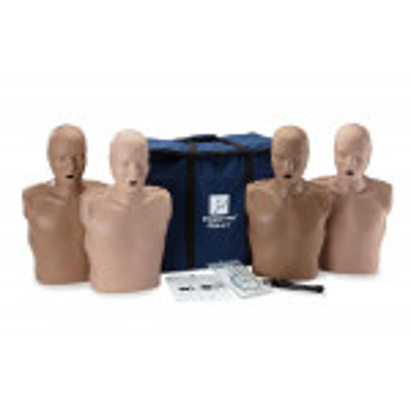 PRESTAN Diversity Professional Adult  CPR Training Manikins 4-Pack, PP-AM-400M-MSDS