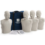 Prestan Child / Pediatric CPR Manikin w/o Monitor - 4 Pack - Light Skin - PP-CM-400