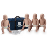 Prestan Infant / Baby CPR Manikin w/ Monitor - 4 Pack - Medium Skin - PP-IM-400M-MS